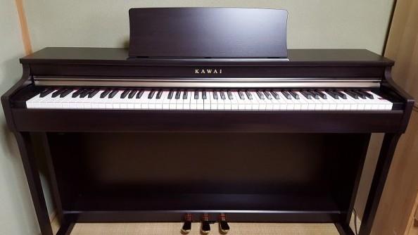 ピアノ設置完了