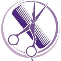 18076571 - hair salon design  haircut or hair salon symbol